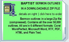 Baptist Sermon Outlines